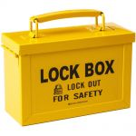 Brady Yellow Group Lockout Box
