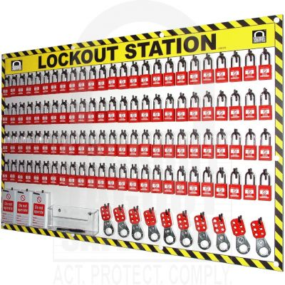 100 Capacity Shadowed Lockout Station