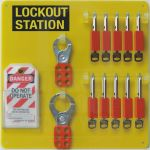 Lockout Tagout Board 10 Padlock Capacity