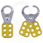 Small Steel Lockout Hasp [Yellow]