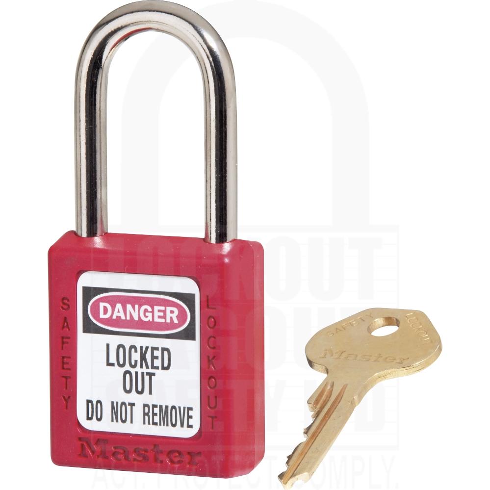 Lockout Tagout Co Uk 410 Safety Padlock Standard Shackle