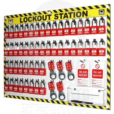 50 Capacity Shadowed Lockout Station