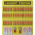 Custom Lockout Tagout Board 54 Padlock Capacity