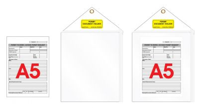 A5 Document Holder 10 Pack