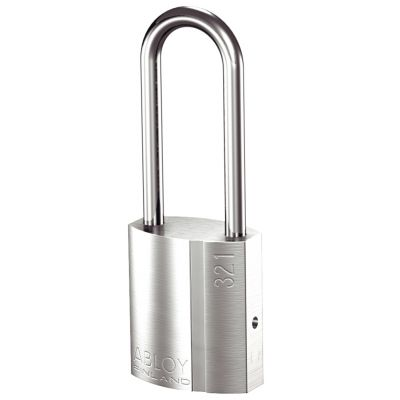 Abloy PL321 Brass Padlock 50mm Shackle