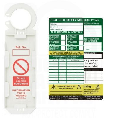 Scaffold Safety Tag Kit