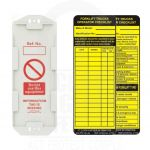 Forklift Safety Tag Kit