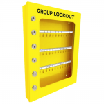 Yellow Group Lockout Cabinet Type 1