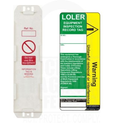 LOLER Safety Tag Kit
