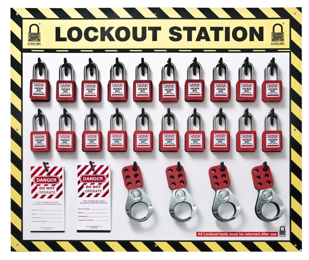 20 lockout tagout The lock-out tag-out standard requires that hazardous and verifying the equipment cannot be re-started after lockout is applied group lock-out tag-out procedures.