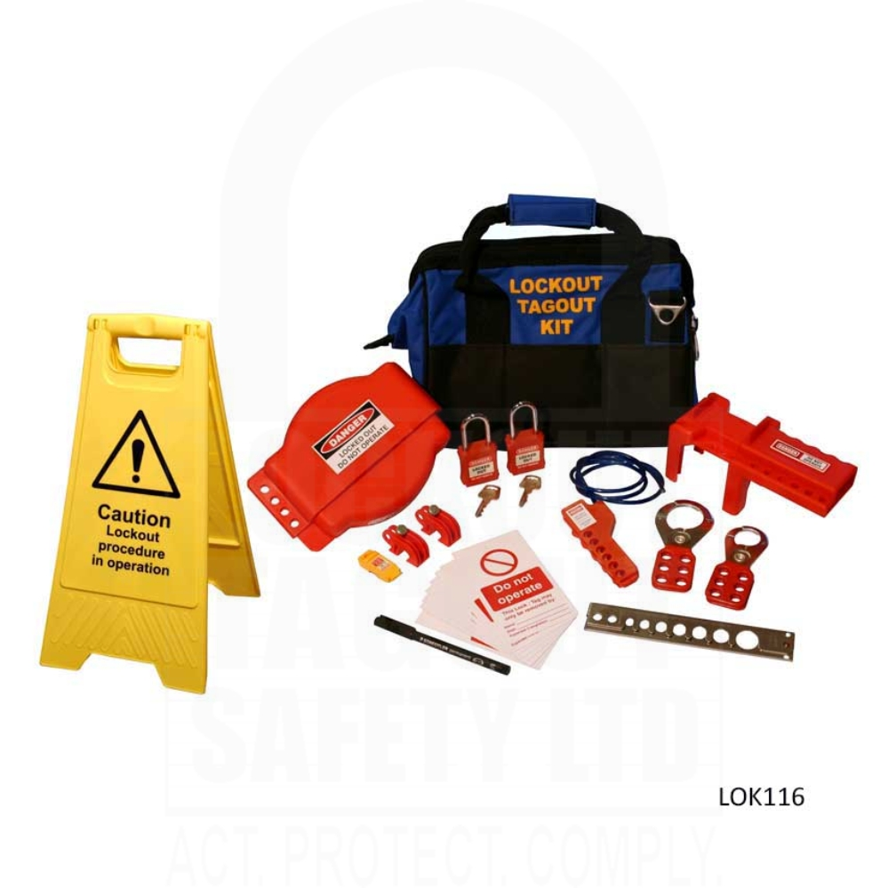 20 lockout tagout Lock out-tag out dvd (8 min) during service and maintenance activities, the unexpected startup or release of stored energy in machinery or equipment can present.