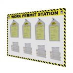 Custom Large Work Permit Station