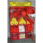 Padlockable Lockout Equipment Storage Cage