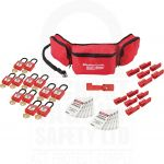 Large Aircraft Safety Lockout Kit with Non Conductive Padlocks