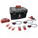 Mechanical Personal Lockout Tagout Kit