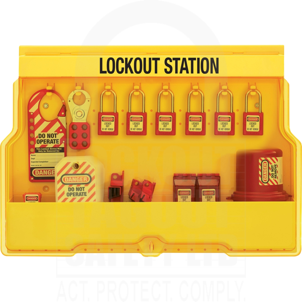 lockout tagout Lockout/tagout standards prevent thousands of injuries every year our lockout/tagout products protect workers from the unexpected startup of machinery and equipment.