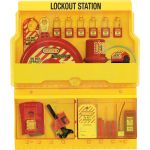 Lockout Tagout Station Deluxe