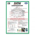 Scafftag Scaffold Inspection Guide Poster