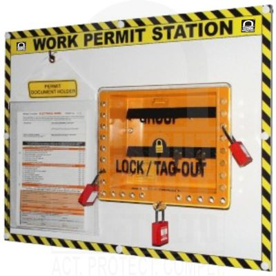 Single Work Permit Station